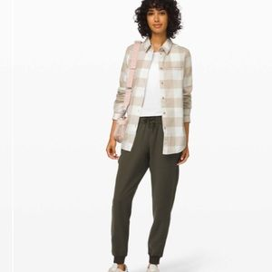 Lululemon Full Day Ahead Flannel Shirt